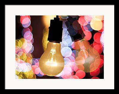 Night Out Photographs Framed Prints