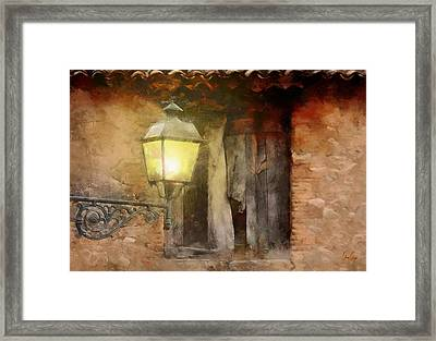 Light By The Window  Framed Print