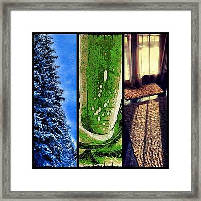 Light Color Texture Abstraction Framed Print by Paul Cutright