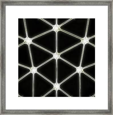 Light Column Framed Print by Odon Czintos
