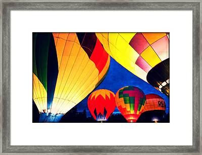 Light 'em Up Framed Print by Brian Bonham