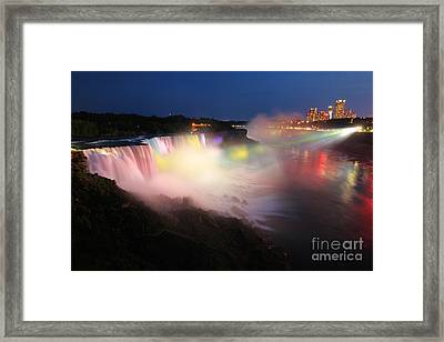 Light From The Canadians Framed Print