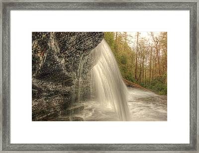 Framed Print featuring the photograph Light From Within by Doug McPherson