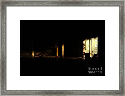 Light Framed Print by HD Connelly