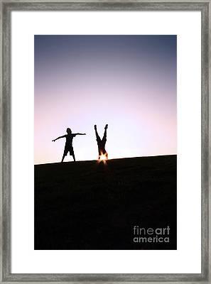 Light Headed Framed Print by Catherine MacBride