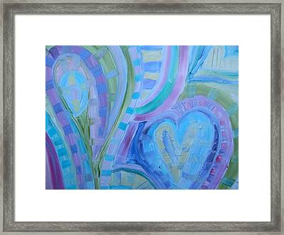 Light Hearts Framed Print