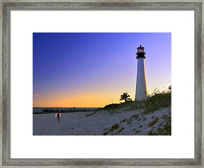 Light House Framed Print by Andres LaBrada