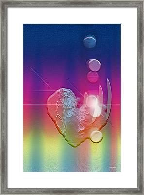 Light In Your Heart Framed Print by Linda Sannuti