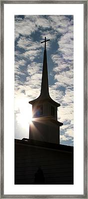 Framed Print featuring the photograph Light by Kume Bryant