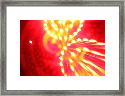 Light Machine Framed Print by Will Czarnik