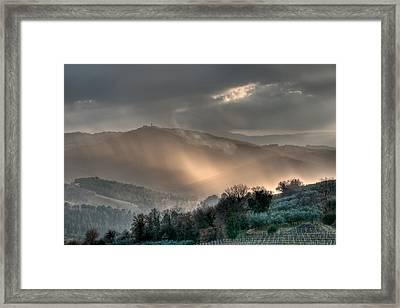 Light Framed Print by Michael Avory