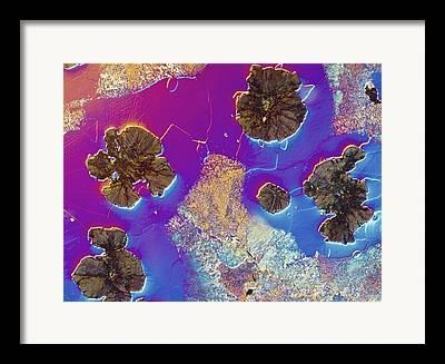 Pearlite Framed Prints