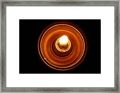 Light Framed Print by Mille Kedlaw