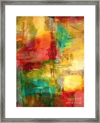 Light Moments Framed Print