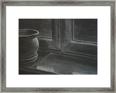Light Framed Print by Morka Mold