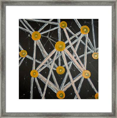Light Networkers Framed Print
