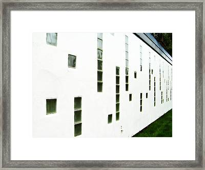 Framed Print featuring the photograph Light Not Vision by MJ Olsen
