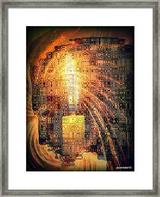 Light Of Consciousness Framed Print by Paulo Zerbato