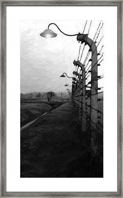 Light Of Darkness Framed Print by Steve K