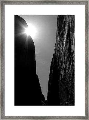 Framed Print featuring the photograph Light Of Day by Vicki Pelham