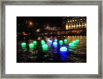 Light Orbs Framed Print by Brynn Ditsche