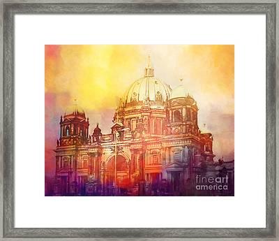 Light Over Berlin Framed Print