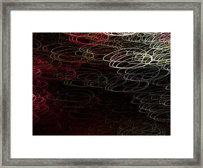 Light Painting 15 Framed Print