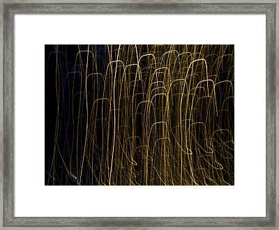 Light Painting 9 Framed Print