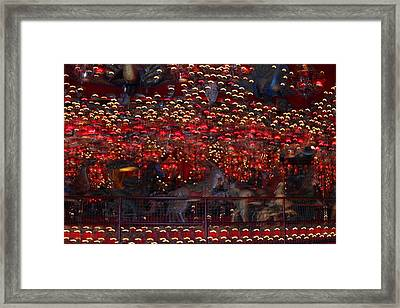 Light Patterns Framed Print by Mike Stouffer