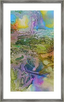 Framed Print featuring the painting Light Play by Mary Sullivan