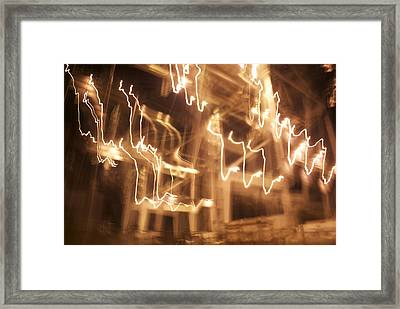 Light Rain Framed Print by Thomas Brown