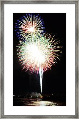 Light Up The Night Framed Print by David Morefield