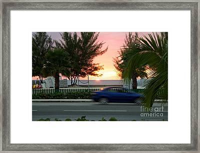 Light Up The Sky Framed Print by Corbin Myles