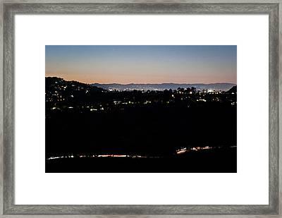 Light Years Framed Print by Stephanie Haertling