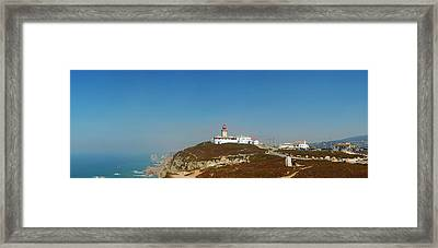Lighthouse At Cabo Da Roca Framed Print by Luis Esteves