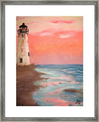 Lighthouse Framed Print by Blake Grigorian