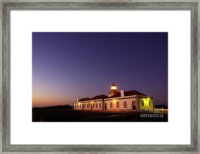 Lighthouse Framed Print by Carlos Caetano