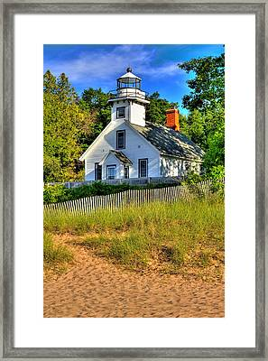 Lighthouse Home Framed Print by Coby Cooper