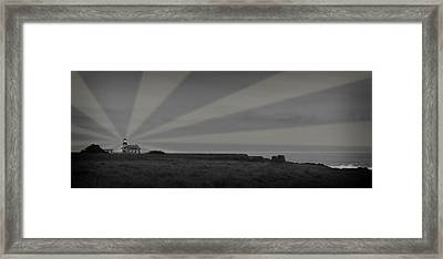 Lighthouse Framed Print