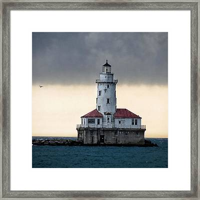 Framed Print featuring the photograph Lighthouse by Nikki McInnes