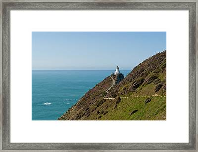 Lighthouse Point Framed Print by Graeme Knox