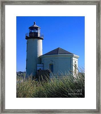 Lighthouse Framed Print by Rory Sagner