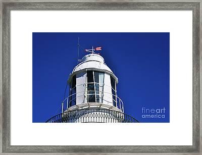 Lighthouse Turret - Close Up Framed Print