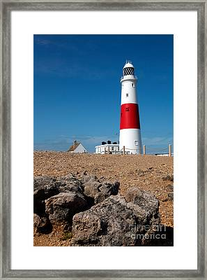 Lighthouse Vertical Framed Print