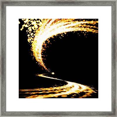 Lighting Explosion Framed Print by Setsiri Silapasuwanchai