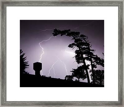 Lighting Tree Framed Print by Ethan  Bryant