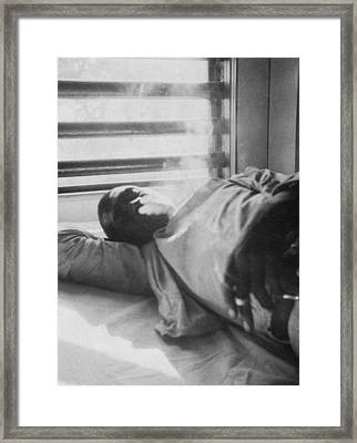 Lightnin Washington, An African Framed Print by Everett