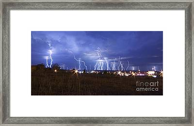 Lightning - 5377 Framed Print