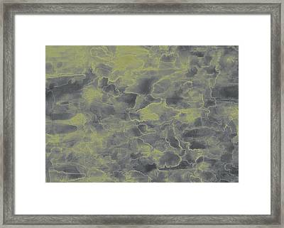 Lightning In The Clouds Framed Print by Duwayne Washington