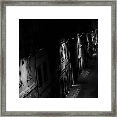 Lights In The Night Framed Print by Celso Bressan